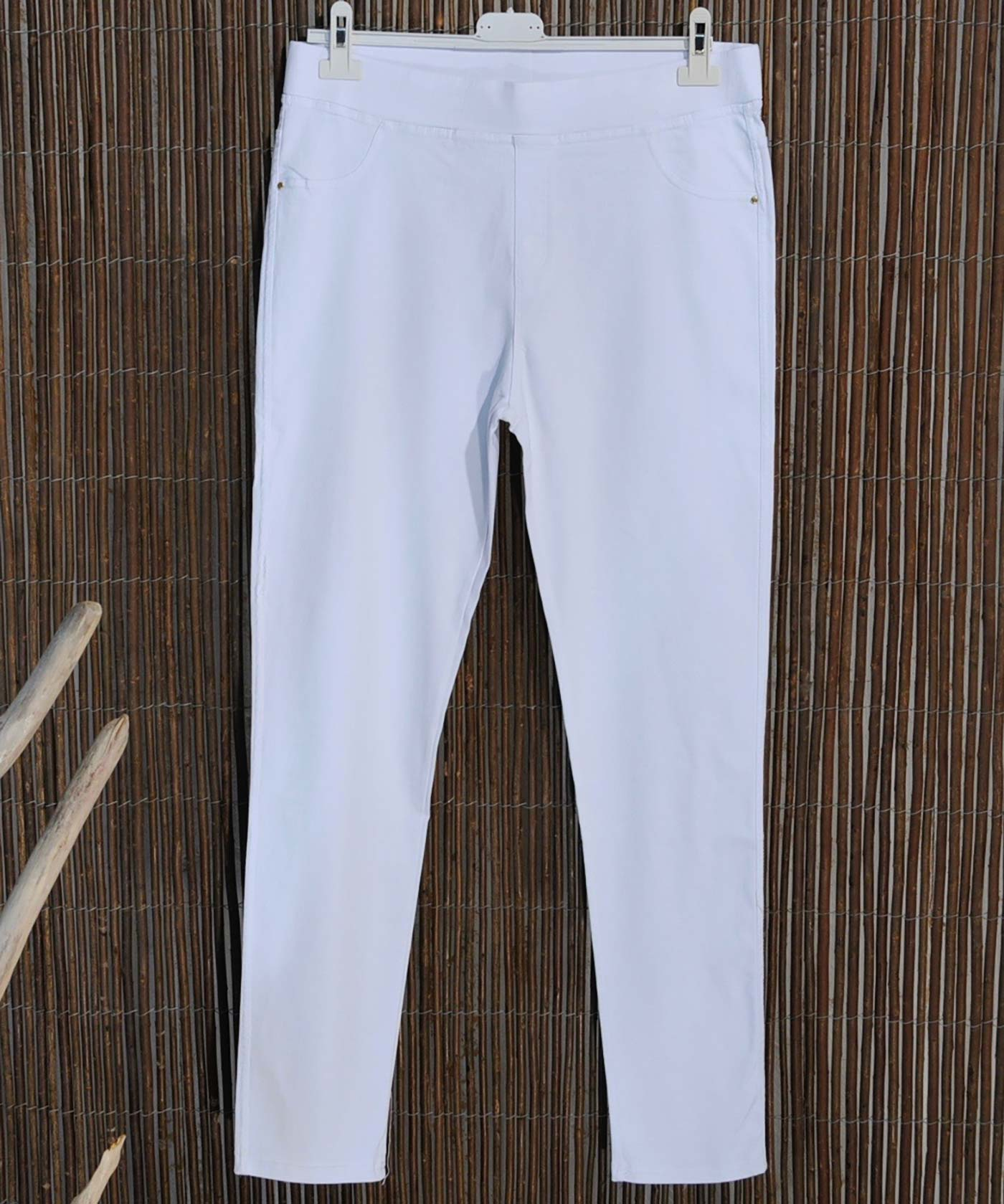 SACHA - JEGGINGS BLANC T52